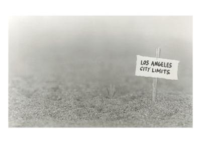 Los Angeles City Limits Sign