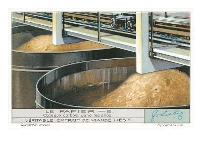 Pulp Vats at Paper Factory