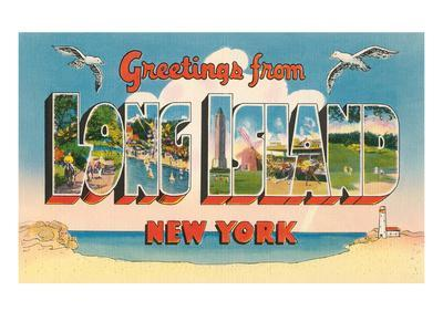 Greetings from Long Island, New York