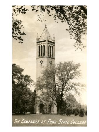 Campanile, Iowa State College