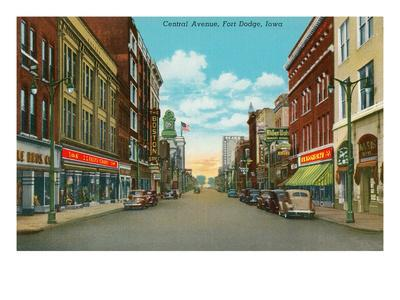 Central Avenue, Fort Dodge, Iowa