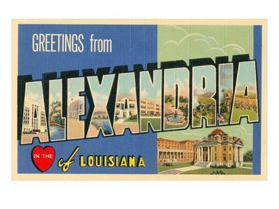 Greetings from Alexandria, Louisiana