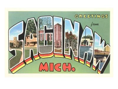 Greetings from Saginaw, Michigan