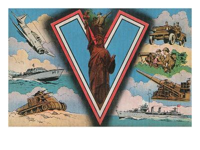 American Military Propaganda, V