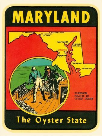 Decal for Maryland