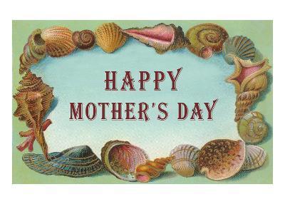 Happy Mother's Day, Seashell Border