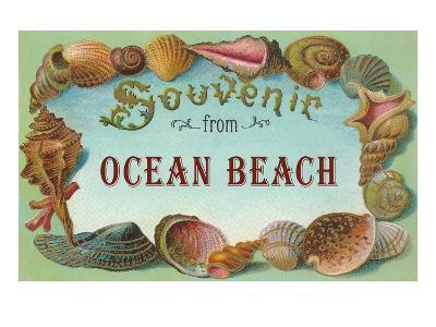 Souvenir from Ocean Beach, New Jersey