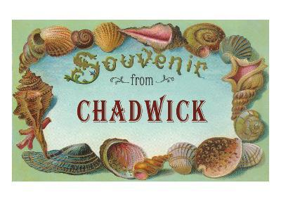 Souvenir from Chadwick, New Jersey