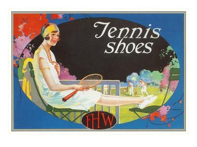 Ad for Tennis Shoes