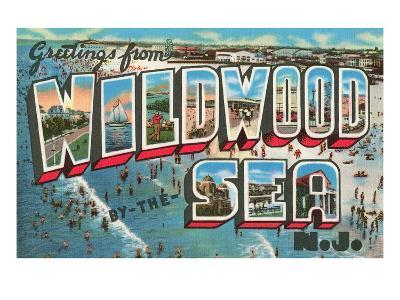 Greetings from Wildwood By-The-Sea, New Jersey