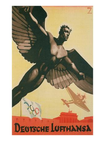 German Airforce Poster