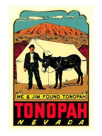 Tonopah, Nevada Decal