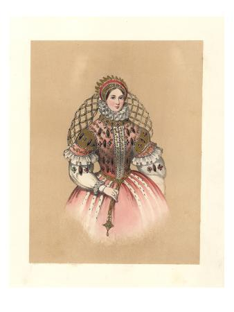 Dress of the Reign of Queen Elizabeth I