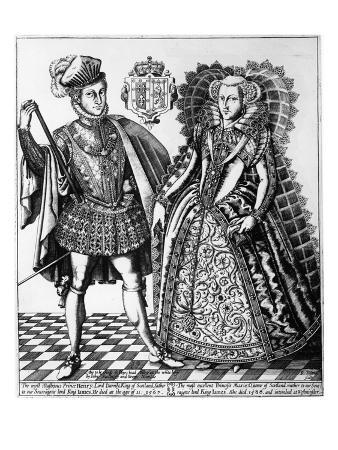 Mary Stuart and Lord Darnley