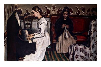 L'Ouverture de Tannhäuser (Girl at the piano; Tannhäuser-Ouverture), c.1867-68