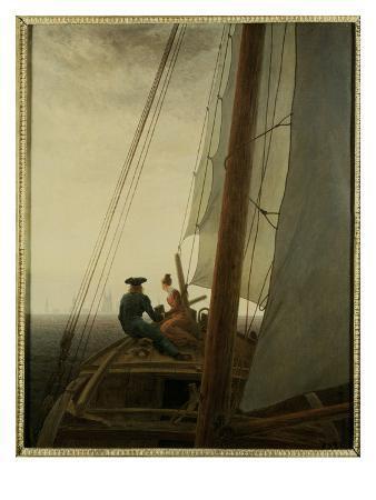 Auf dem Segler (On the Sailing Ship), c.1818-19