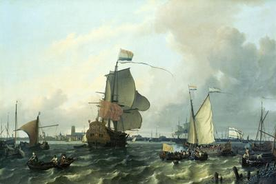 """""""Brielle"""" William III, Embarkation to England,1688"""
