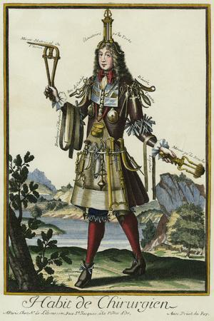 Habit de Chirurgien (A Fantasy Costume of a Surgeon with Various Attributes of His Profession)