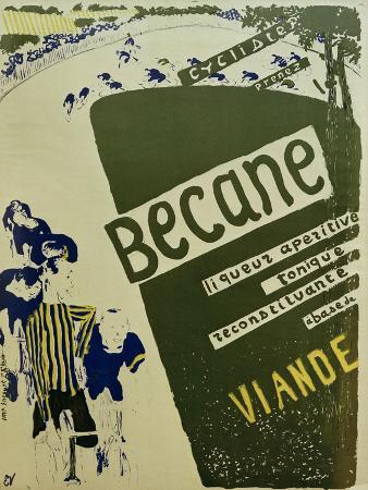 Bécane (Affiche) (Bécane, Poster), c.1894