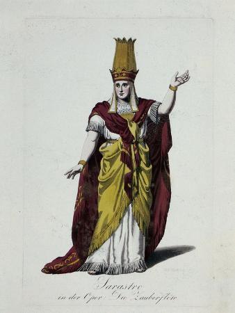 Figurine of Sarastro, Character from The Magic Flute, Opera by Wolfgang Amadeus Mozart