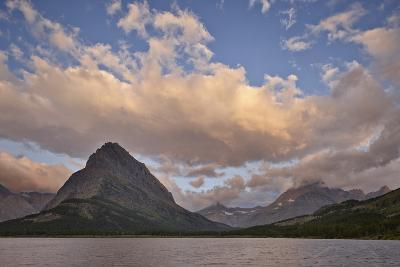 Mount Grinnell and Swiftcurrent Lake at Dawn, Glacier National Park, Montana, USA