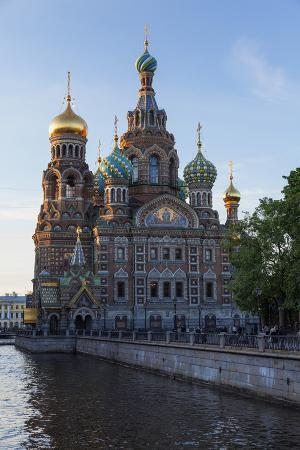 The Church on Spilled Blood, UNESCO Site, on the Kanal Griboedova, St. Petersburg, Russia