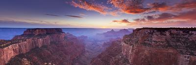 Wotans Throne, Cape Royal Viewpoint, North Rim, Grand Canyon Nat'l Pk, UNESCO Site, Arizona, USA