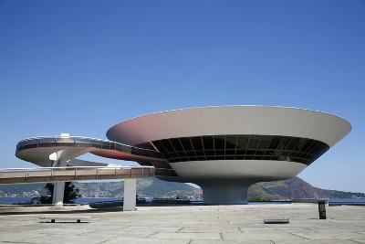 Museu do Arte Contemporanea (Museum of Contemporary Art), Niteroi, Rio de Janeiro, Brazil