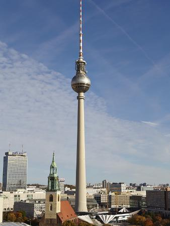 TV Tower, Berlin, Germany, Europe