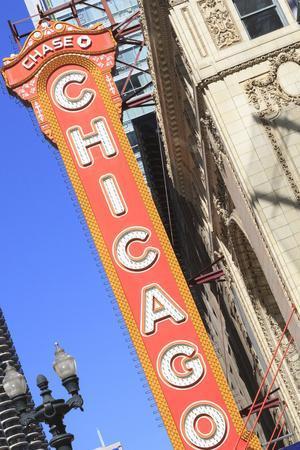 Chicago Theater, Chicago, Illinois, United States of America, North America