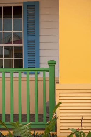 Colorful House, Roatan, Honduras