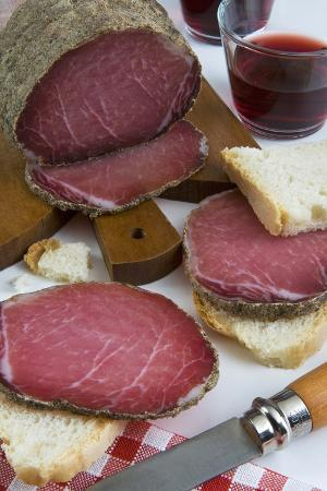 Lonza, Pork Loin, Cured Ham and Air-Dried Meat, Tuscan Cuisine, Tuscany, Italy