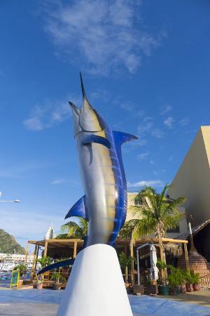 Marlin Statue, Marina, Cabo San Lucas, Baja, Mexico