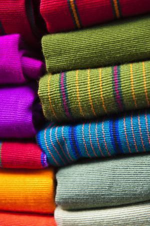 Local Outdoor Market Textiles, Chichicastenango, Guatemala