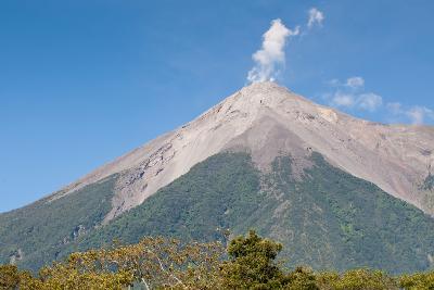 Fuego Volcano Outside Antigua, Guatemala