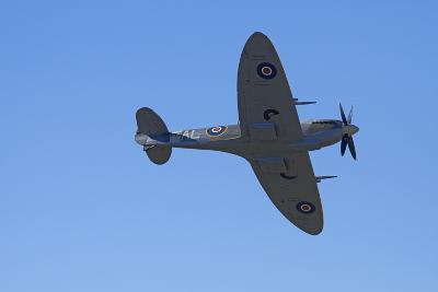 Supermarine Spitfire, British and Allied WWII War Plane, South Island, New Zealand