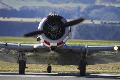 North American Harvard, or T-6 Texan, or SNJ, War Plane