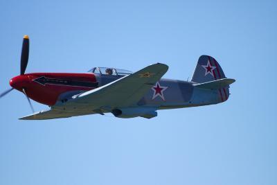 Yakovlev Yak-3, WWII Russian Fighter Plane, War Plane
