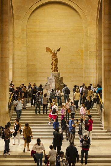 Statue Of Winged Victory Victoire De Samothrace Musee