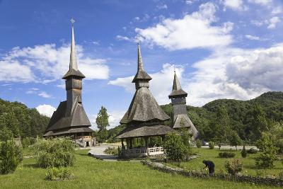 Barsana Monastery, Built at End of 20th Century, Romania
