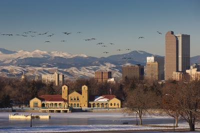 City Skyline from City Park, Denver, Colorado, USA