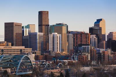 City View from the West, Denver, Colorado, USA
