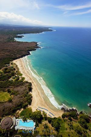Hapuna Beach Prince Hotel, Mauna Kea Beach Resort, Kohala, Big Island, Hawaii, USA