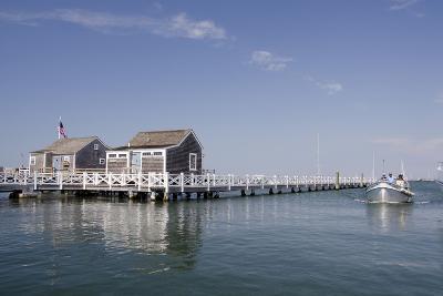 Straight Wharf Water Taxi, Nantucket, Massachusetts, USA