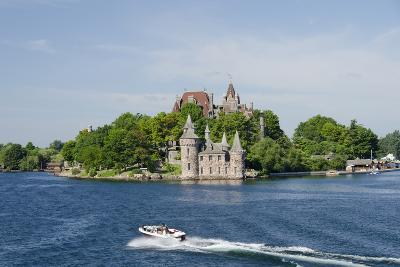 Boldt Castle, 'American Narrows', St. Lawrence Seaway, Thousand Islands, New York, USA