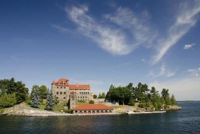 Singer Castle, 'American Narrows', St. Lawrence Seaway, Thousand Islands, New York, USA