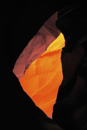 Shaft of Light, Upper Antelope Canyon, Page, Arizona, USA