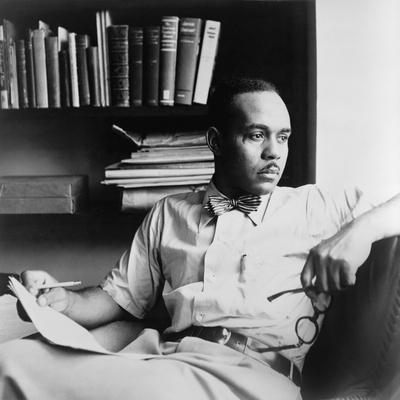 Ralph Ellison (1914-1994), Author of the Classic Novel, Invisible Man (1953), 1950