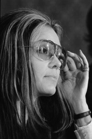 Gloria Steinem, Feminist and a Leader of the 1970's Woman's Movement, 1972