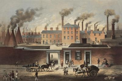 Wentworth Works, File and Steel Manufacturers and Exporters of Iron in Sheffield, England, Ca. 1860